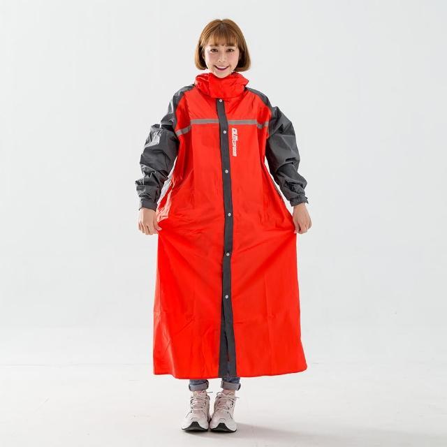 【BrightDay君邁雨衣】藏衫罩背背款-大人背包前開連身式風雨衣(機車雨衣、戶外雨衣)