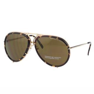 【Porsche Design保時捷】-太陽眼鏡(琥珀色)