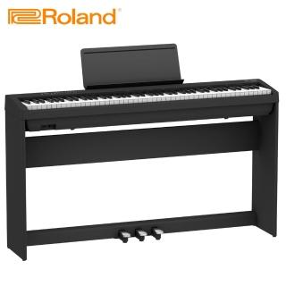 【ROLAND 樂蘭】FP-30 數位電鋼琴 時尚黑色款(原廠公司貨)