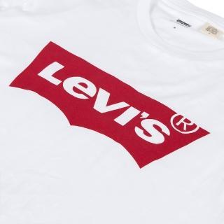 【LEVIS】男款 短袖T恤 / 經典LOGO 白-人氣新品