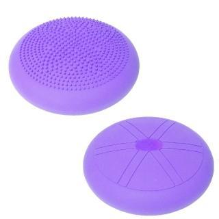 【Sport-gym】-平衡墊/按摩墊/和室椅墊/椅背墊-蝴蝶顆粒-可充氣型