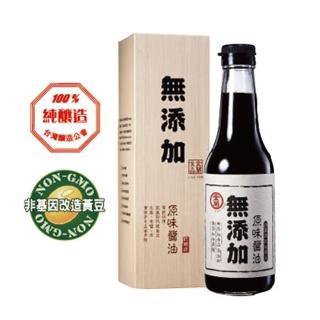 【金蘭】無添加原味醬油(500ml)