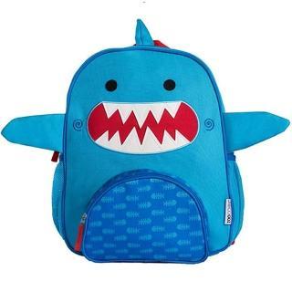 【Zoocchini】可愛動物兒童後背包(小鯊魚)