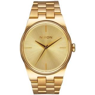 【NIXON】IDOL 唯美星河轉念時尚腕錶-金(A953502)