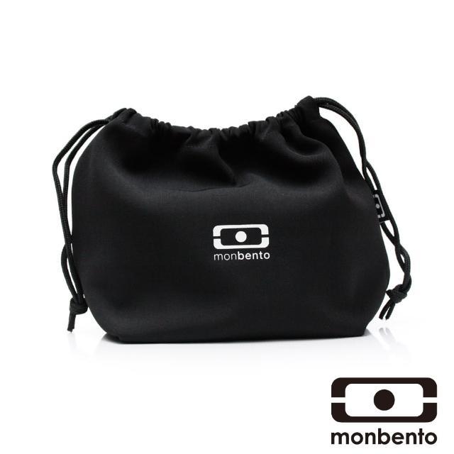 【MONBENTO】餐布袋-黑