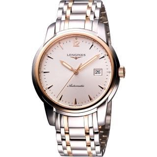 【LONGINES】Saint-Imier 18K玫塊金機械腕錶(L27665727)