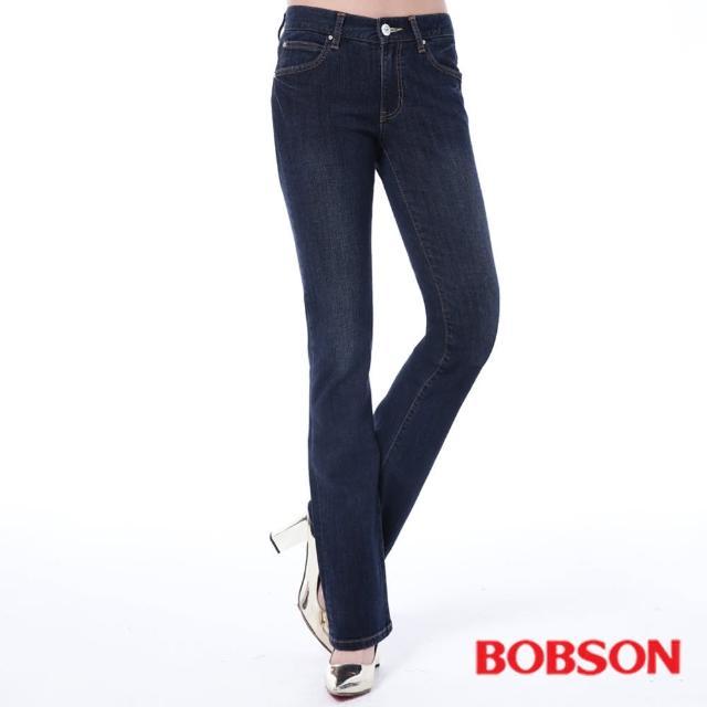 【BOBSON】女款保暖膠原蛋白小喇叭褲(8100-52)網友推薦