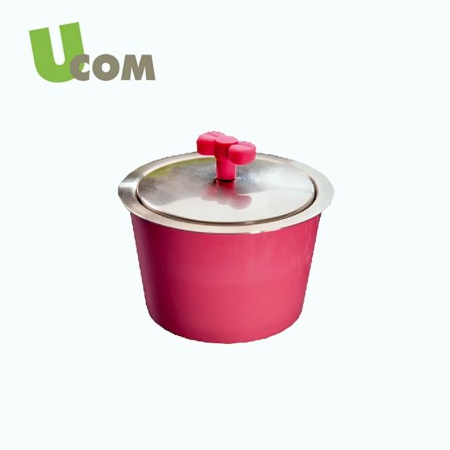 【UCOM】不沾炒鍋單柄含蓋33CM