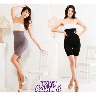【韓依 HANN.E】560丹3D立體透氣高腰雕塑褲(塑身褲瘦身褲買2雙送1雙組M123-3)