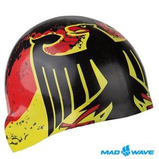 【俄羅斯MADWAVE】成人矽膠泳帽(GERMANY)