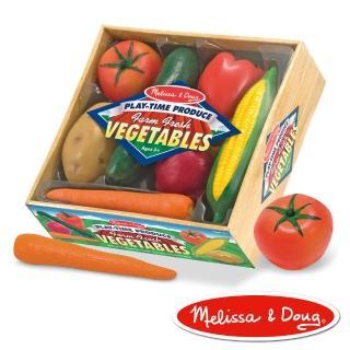 【美國瑪莉莎 Melissa & Doug】玩食趣(健康蔬菜組)