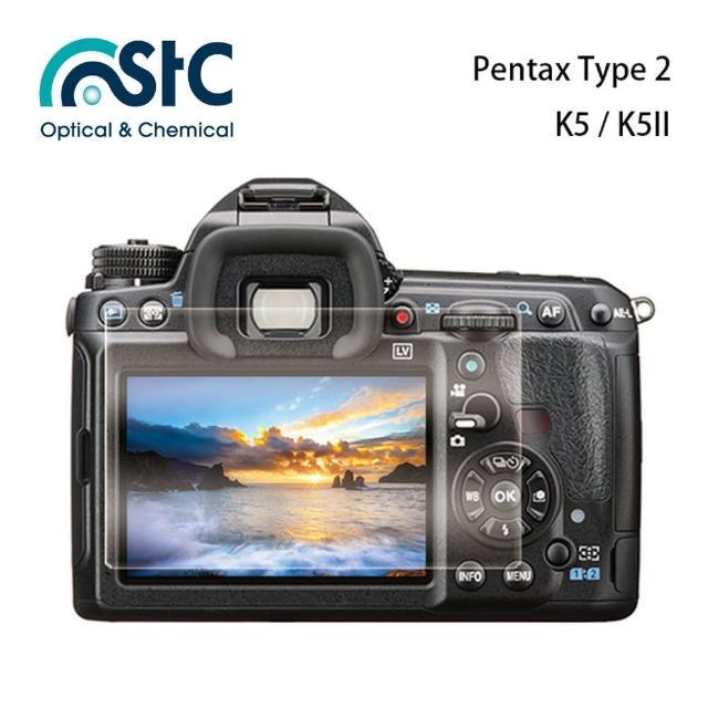 【STC】玻璃螢幕保護貼 Pentax Type 2(適用 K5  K5II)