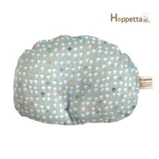 【Hoppetta】蘑菇多功能嬰兒枕(水藍)