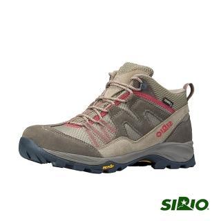 【SIRIO】PF156 Gore-Tex中筒登山健行鞋(女款 棕紅)