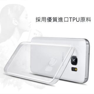 【三星 Samsung】Galaxy S7 edge 輕薄透明 TPU 高質感軟式手機殼/保護套(高透光材質 微凸鏡頭保護設計)