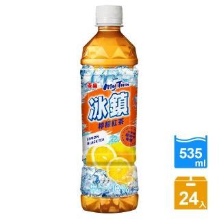 【泰山】冰鎮檸檬紅茶PET535ml(24瓶/箱)