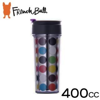 【French Bull】點點幸福雙層保溫隨行杯400ml