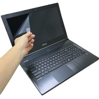 【EZstick】MSI GS60 6QC 系列專用 靜電式筆電液晶螢幕貼(可選鏡面或霧面)