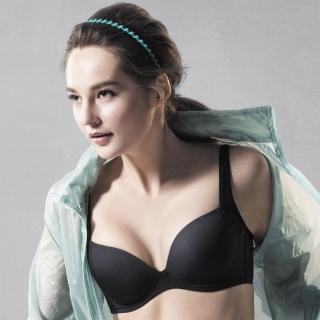 【華歌爾】城市輕運動系列D-E罩杯內衣(能量黑)