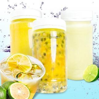 【那魯灣】鮮榨冷凍純檸檬/金桔原汁/百香果原汁任選10瓶(230g/瓶)
