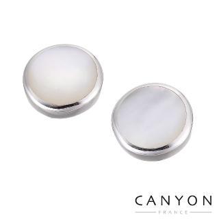 【CANYON】優雅蝶貝耳環