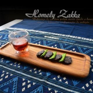 【Homely Zakka】木趣食光相思木和風大長盤/點心盤/壽司盤/茶盤(大)