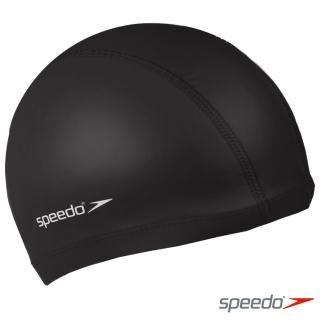 【SPEEDO】成人 合成泳帽 Pace(黑)