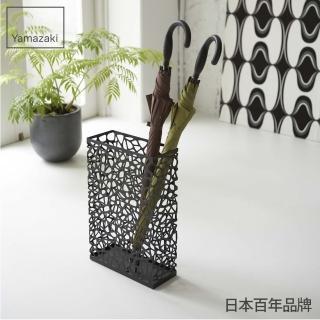 【日本YAMAZAKI】鳥巢造型傘架(黑)