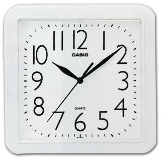 【CASIO】清晰數字典藏方形掛鐘(IQ-02S-7)