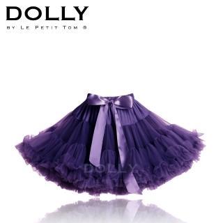 【荷蘭 Dolly 精品】公主雪紡澎裙 - 氣質深紫