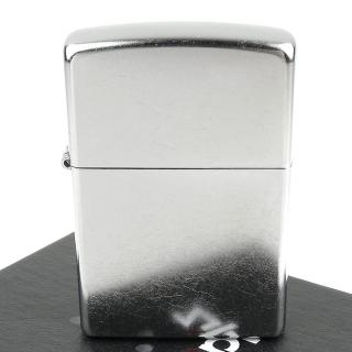 【ZIPPO】美系-街頭風鍍鉻-銀色霧面打火機