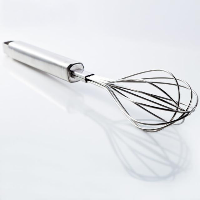 【PUSH! 餐具廚房用品】打蛋器手動攪拌棒雞蛋奶油攪拌和麵器烘培工具(D59)