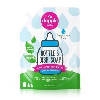 【dapple】奶瓶及餐具清潔液補充包1L(無香精)