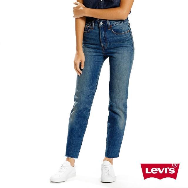 【Levis】WEDGIE女款修身窄管丹寧牛仔褲-水洗藍超值商品