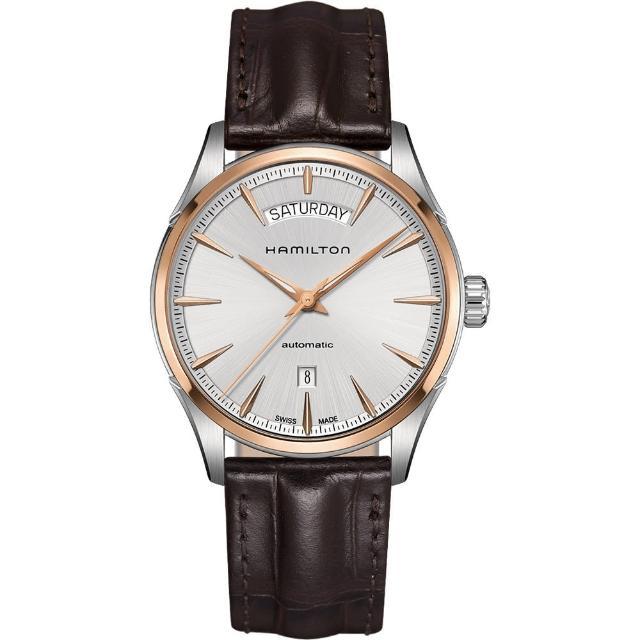 【Hamilton】漢米爾頓 JAZZMASTER 爵士機械腕錶-42mm(H42525551)限量出售