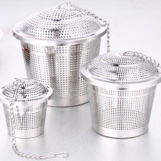 【PUSH!廚房餐具用品】304不銹鋼滷料煲湯茶葉過濾器調味滷包器大號(D77)