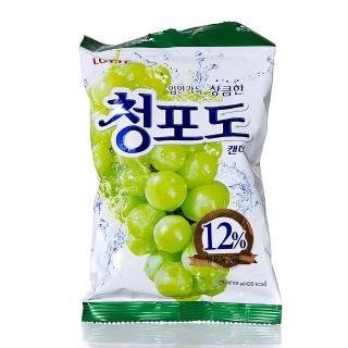 【Lotte】青葡萄糖(153g)
