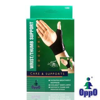 【美國OPPO護具】高透氣拇指腕部保護套/拇指護套#1288(1只/盒)