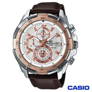 【CASIO卡西歐】EDIFICE賽車風格三眼時尚腕錶(EFR-539L-7A)