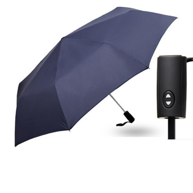 【PUSH! 好聚好傘】一鍵開收全自動傘雨傘遮陽傘晴雨傘三摺傘折疊傘(125CM I63)站長推薦