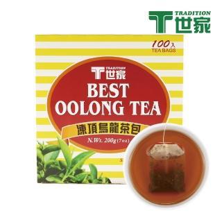 【T世家】經典凍頂烏龍茶包 100入/盒