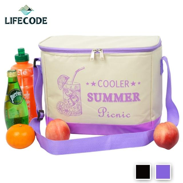 【LIFECODE】COOLER飲料保冰袋-2色可選(10L)/