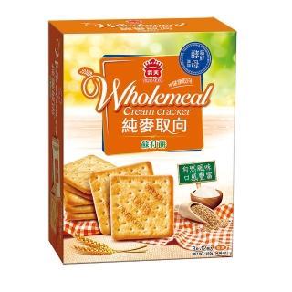 【義美】純麥取向蘇打(410公克)