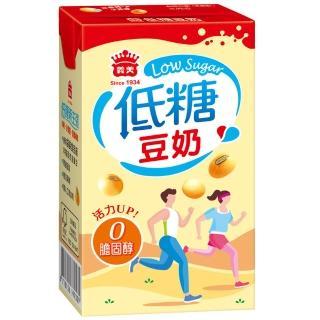 【義美】低糖豆奶(250ml/24入/箱)