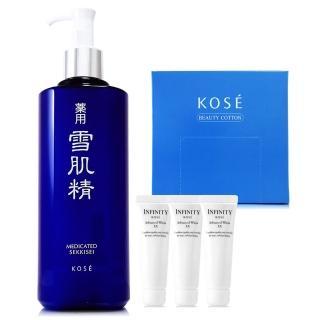 【KOSE高絲】雪肌精化妝水500ml-限量版 - 贈雪肌精化妝水33ml*4(正統公司貨)