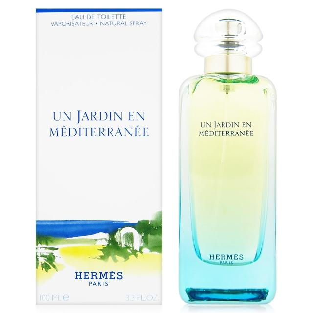 【HERMES 愛馬仕】地中海花園 女性淡香水 100ml(贈禮品袋)
