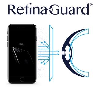 【RetinaGuard】視網盾 iPhone7 4.7吋 眼睛防護 防藍光保護膜