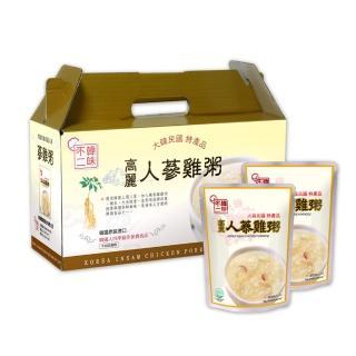 【韓味不二】人蔘雞粥禮盒(280g*10入)