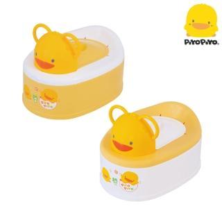 【黃色小鴨 Piyo Piyo】兩段式功能造型幼兒便器