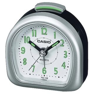 【CASIO】螢光數字輕便桌上型鬧鐘(TQ-148-8)